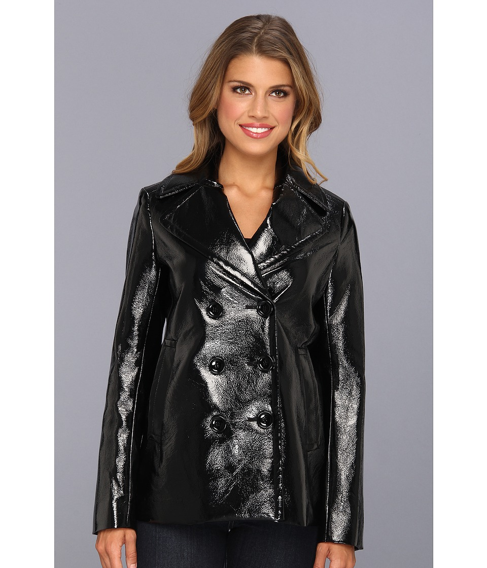 Vince Camuto - Pea Coat (Rich Black) Women's Jacket
