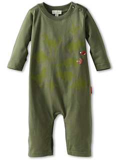 SALE! $11.99 - Save $22 on le top Jolly Jurassic Coverall (Infant) (Sage Green) Apparel - 64.74% OFF $34.00