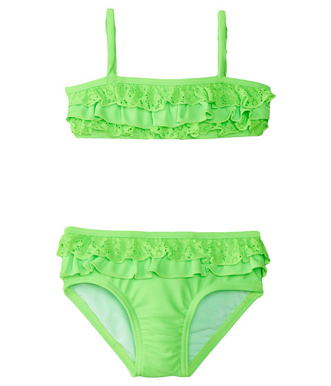 Seafolly Kids - Neon Pop Mini Tube Bikini (Infant/Toddler/Little Kids) (Splice) Girl's Swimwear Sets