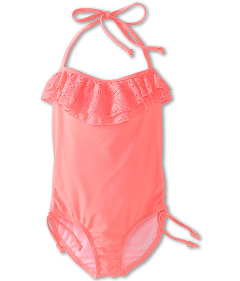 Seafolly Kids - Roller Girl Tube Tank (Little Kids/Big Kids) (Rio) Girl's Swimsuits One Piece