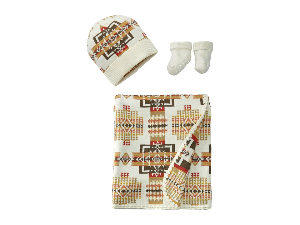 Pendleton - Jacquard Knit Layette Set (Cream) Blankets