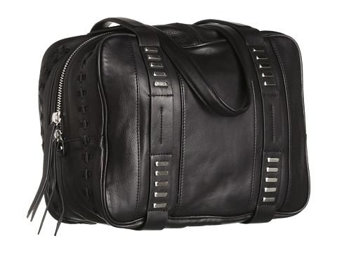 Kelsi Dagger Harley City Satchel (Black) Handbags