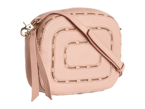Kelsi Dagger Charlie Crossbody (Blush) Cross Body Handbags