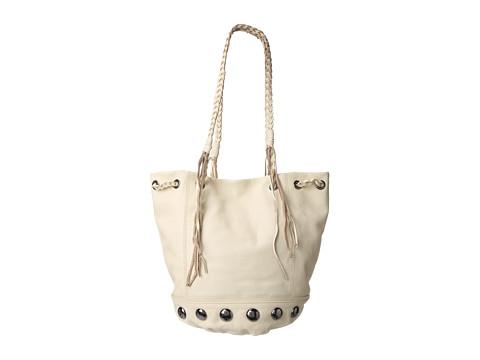 Kelsi Dagger Tyler Drawstring (Eggshell) Tote Handbags