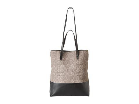 Kelsi Dagger Emma Large Tote (Grey/Yellow) Tote Handbags