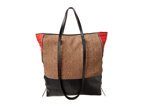 Kelsi Dagger Emma Large Tote (Camel/Poppy) Tote Handbags