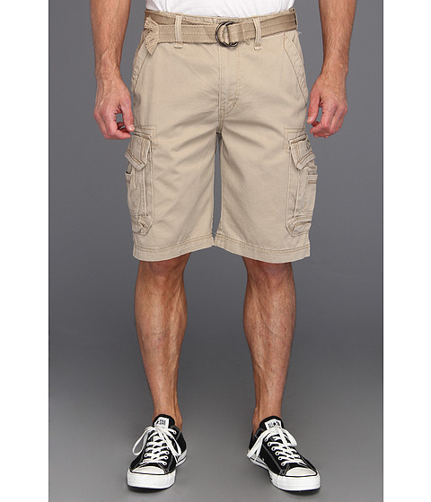 UNIONBAY - Survivor Belted Cargo Short (Desert 1) Men's Shorts