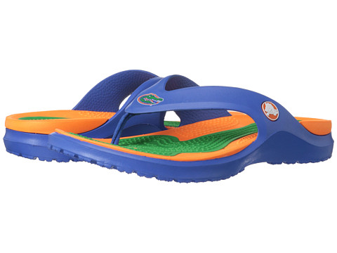 Crocs - University of Florida MODI Flip (Sea Blue) Sandals
