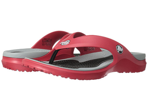Crocs - The Ohio State University MODI Flip (Red) Sandals