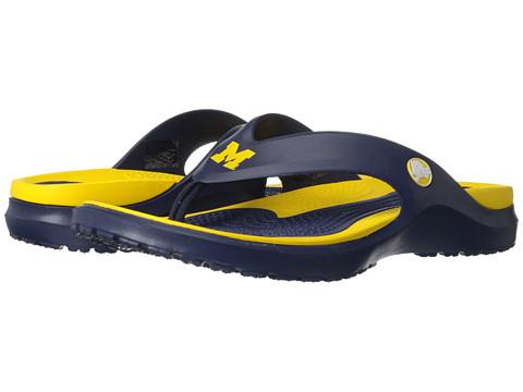 Crocs - University of Michigan MODI Flip (Navy) Sandals