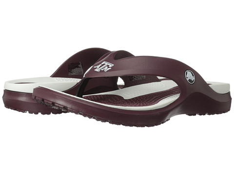 Crocs - Texas AM University MODI Flip (Burgundy) Sandals