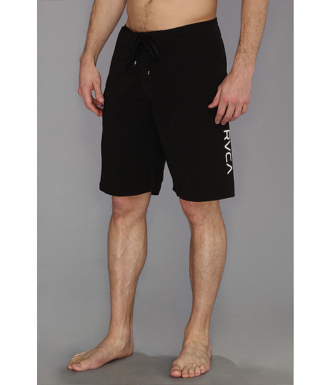 RVCA - Western II Trunk (Black 1) Men's Swimwear