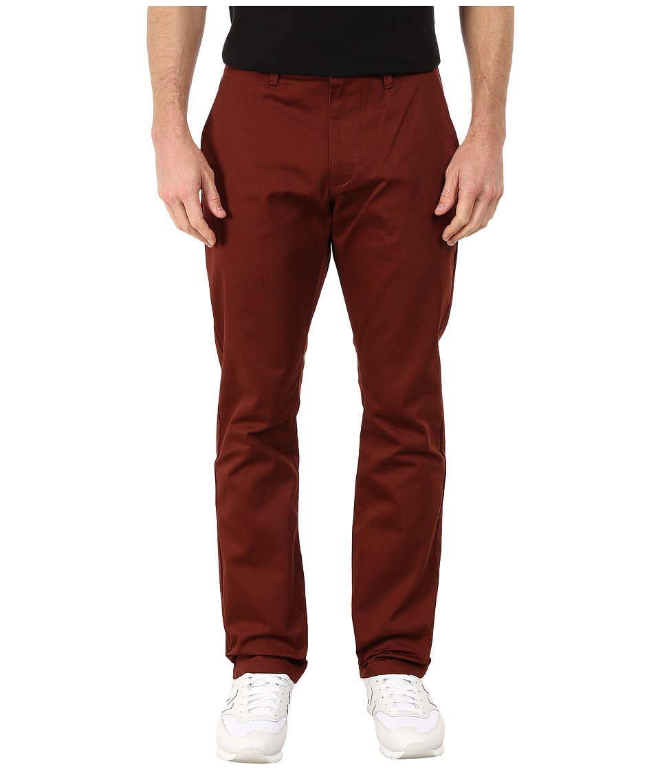 RVCA - The Week-End Pant (Red Earth) Men's Casual Pants