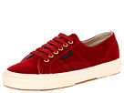 Superga 2750 Velvetw (Burgundy)