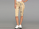 Jamie Sadock Snake Print 24 Capri (Chantilly Cream)