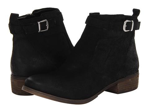 MIA - MLE - Pixiee (Black Oily Suede) Women's Zip Boots