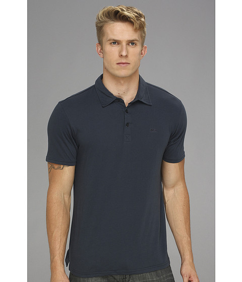 RVCA - Sure Thing Polo Shirt (Midnight) Men's Short Sleeve Pullover