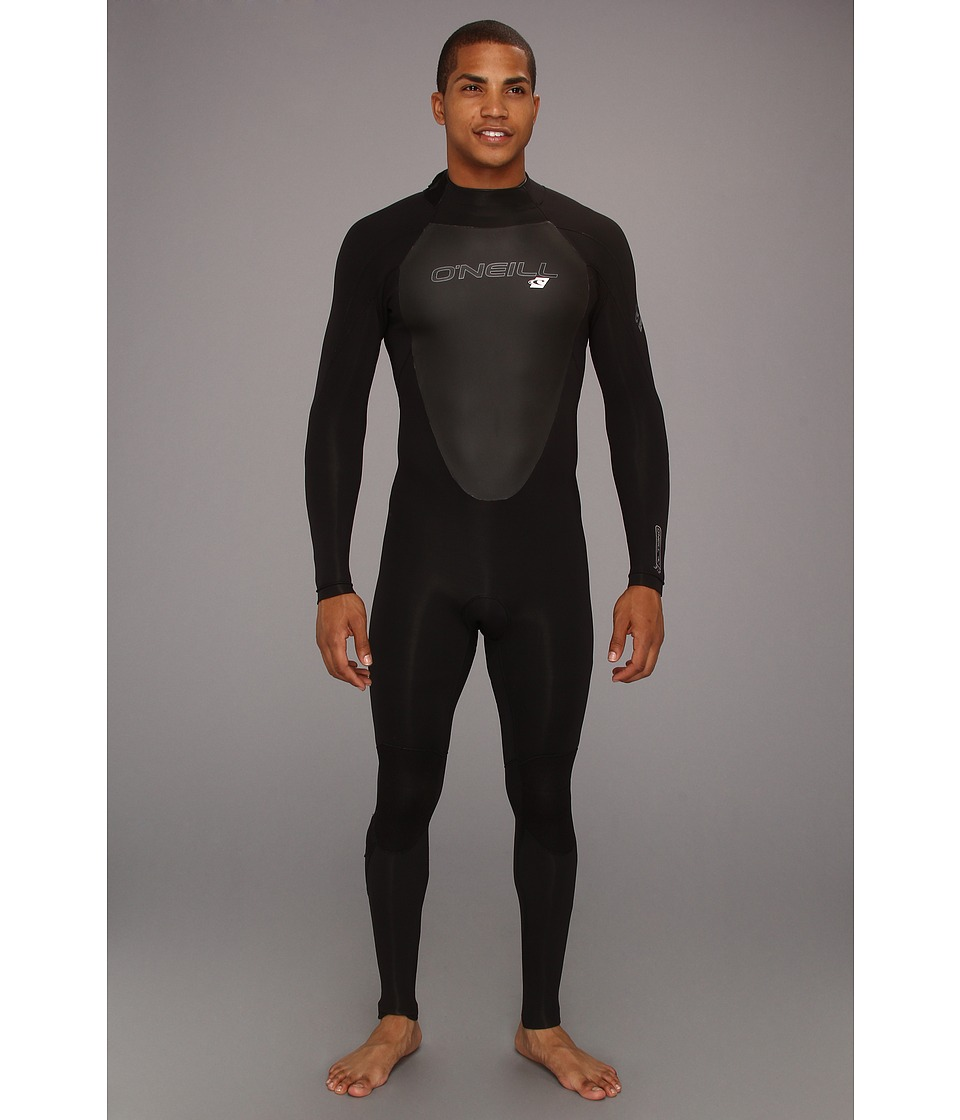 O'Neill - EPIC CT 3/2MM Wetsuit (Black/Black/Black) Men's Wetsuits One Piece