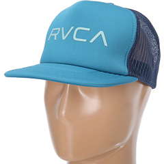 SALE! $16.76 - Save $3 on RVCA The Rvca Trucker II (Northern Blue) Hats - 16.20% OFF $20.00