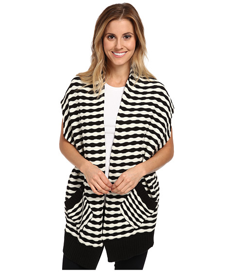 Fox - Shifter Cardigan (Black) Women's Sweater