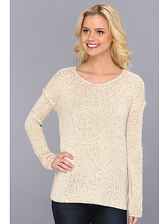 SALE! $21.99 - Save $48 on RVCA Star Sand Knit Sweater (Cloud) Apparel - 68.36% OFF $69.50