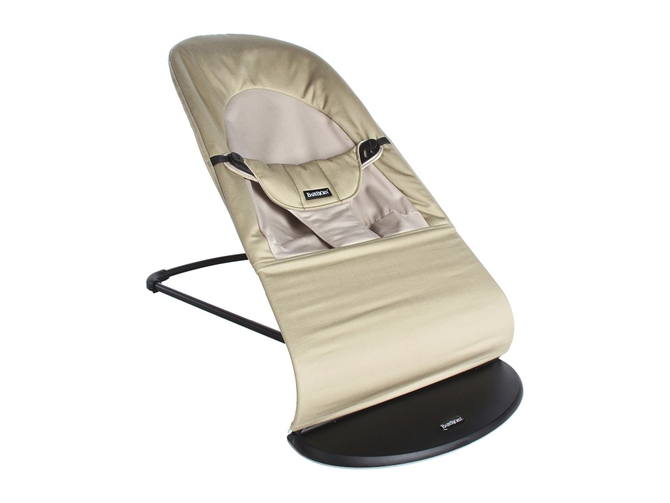 BabyBjorn - Bouncer Balance Soft (Khaki/Beige Cotton) Strollers Travel
