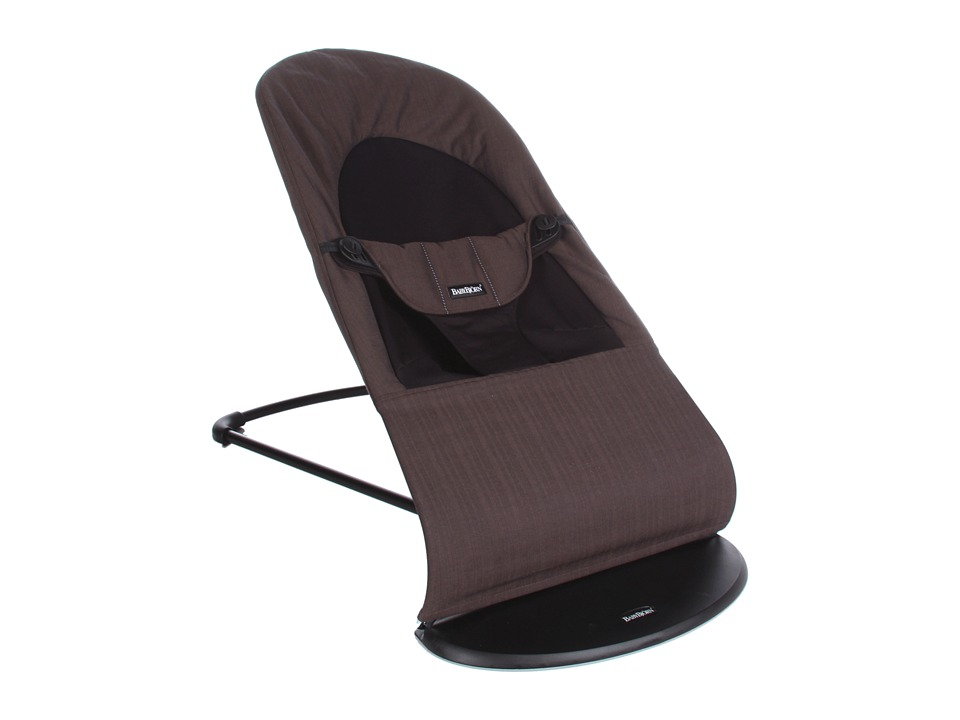 BabyBjorn - Bouncer Balance Organic (Black/Brown Organic) Strollers Travel