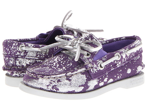Sperry Top-Sider Kids - A/O Gore (Toddler/Little Kid) (Purple/Silver) Girls Shoes
