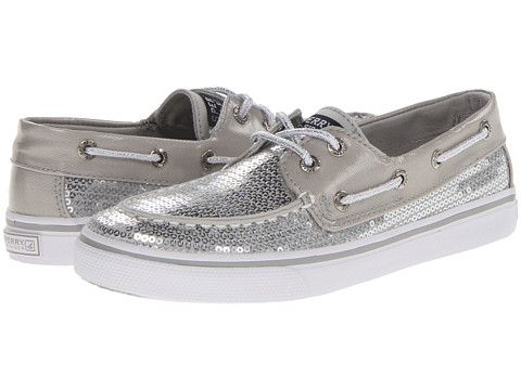 Sperry Top-Sider Kids - Bahama (Little Kid/Big Kid) (Silver) Girls Shoes