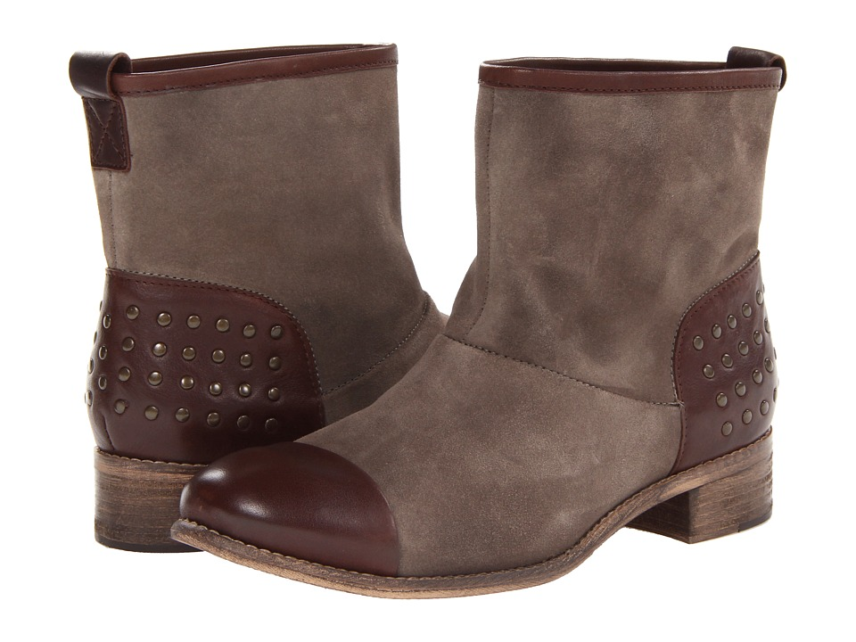 Diba - Rad Ient (Taupe/Dark Brown) Women's Pull-on Boots
