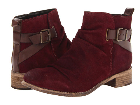 Diba - Ris Kee (Burgundy/Dark Brown) Women's Boots