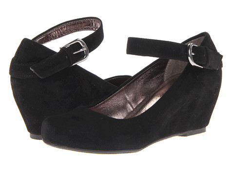Diba - Keep Her (Black Suede) Women's Shoes