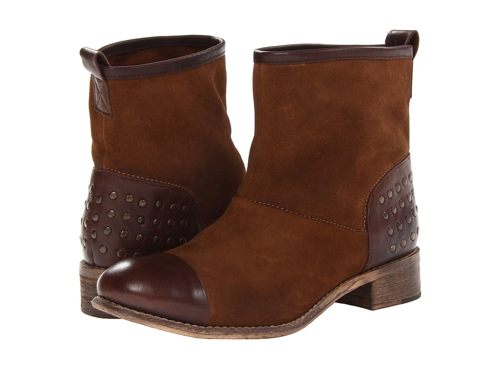 Diba - Rad Ient (Cognac/Dark Brown) Women's Pull-on Boots