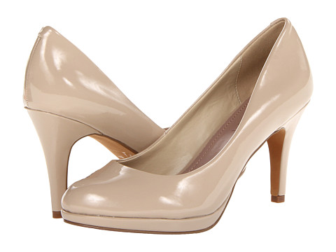Amiana - 15-A5256 (Little Kid/Big Kid/Adult) (Nude Patent PU) High Heels