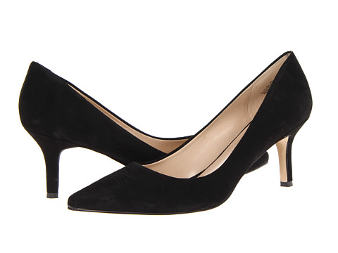Nine West - Austin (Black Suede 2) High Heels