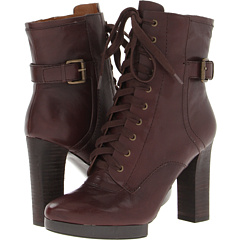 Nine West Beatrivia (Dark Brown Leather) Footwear