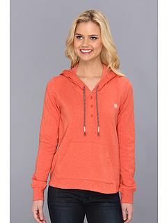 SALE! $14.99 - Save $30 on Element Ritzy Pullover Fleece Hoodie (Melon) Apparel - 66.31% OFF $44.50