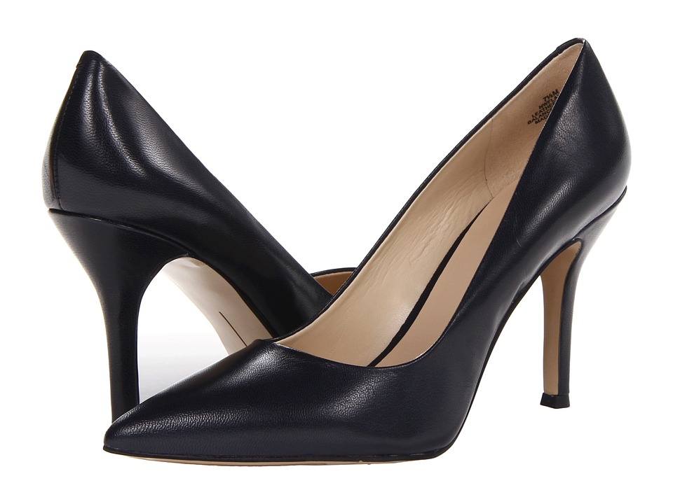 Nine West - Flax (Deep Navy Leather) High Heels