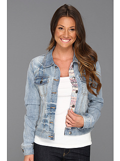 SALE! $36.99 - Save $53 on Roxy Dancing Shores Denim Jacket (Light Indigo) Apparel - 58.67% OFF $89.50
