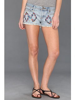 SALE! $29.99 - Save $25 on Roxy Blaze Embroidered Denim Short (Faded Glory Wash) Apparel - 44.97% OFF $54.50