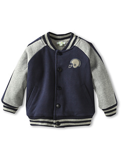 SALE! $16.99 - Save $35 on le top French Terry Varsity Jacket (Navy) Apparel - 67.33% OFF $52.00