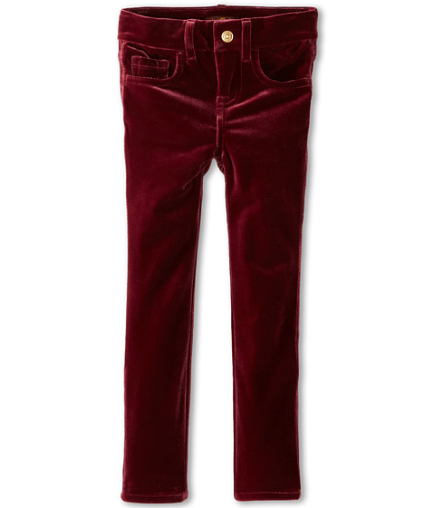 7 For All Mankind Kids - The Skinny Jean in Cabernet (Little Kids) (Cabernet) Girl