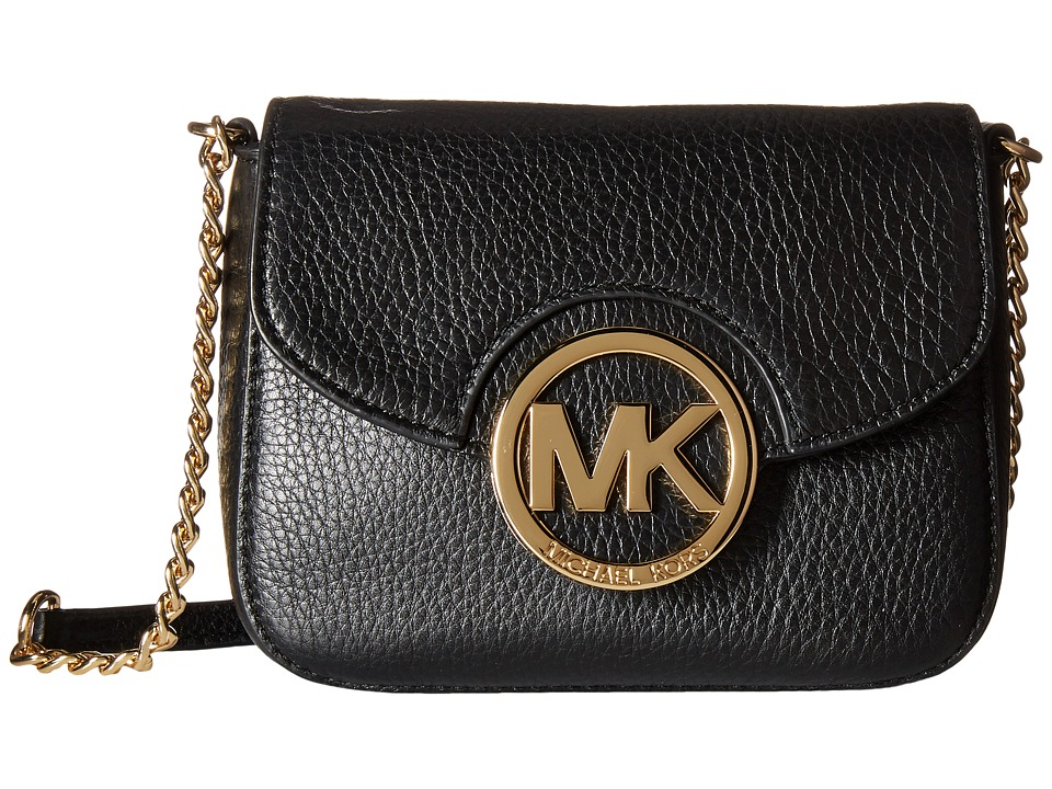 MICHAEL Michael Kors - Fulton Small Crossbody (Black) Cross Body Handbags