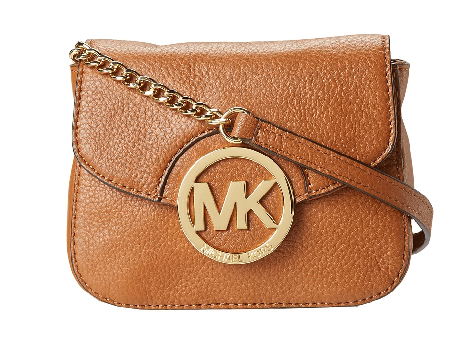 MICHAEL Michael Kors - Fulton Small Crossbody (Luggage) Cross Body Handbags
