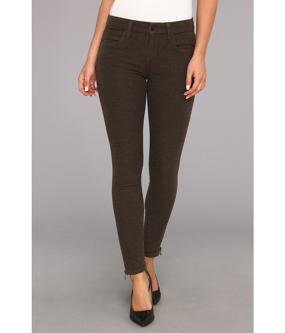 Joe's Jeans - Moleskin Zip Ankle in Heather Olive (Heather Olive) Women's Jeans