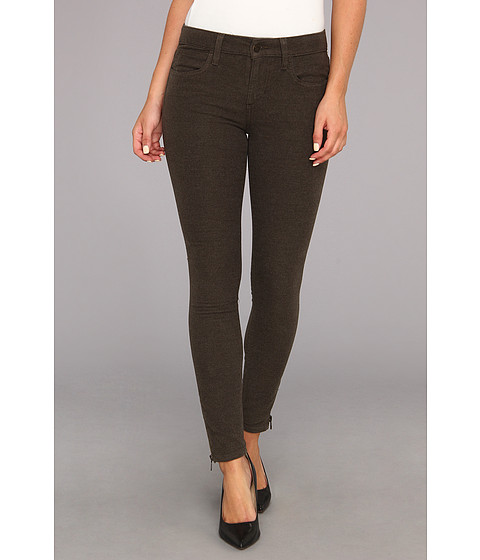 Joe's Jeans - Moleskin Zip Ankle in Heather Olive (Heather Olive) Women's Jeans