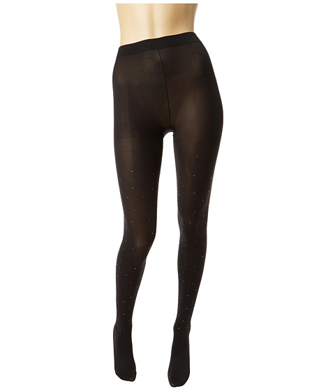 Kate Spade New York - Random Crystals Tight (Black) Hose