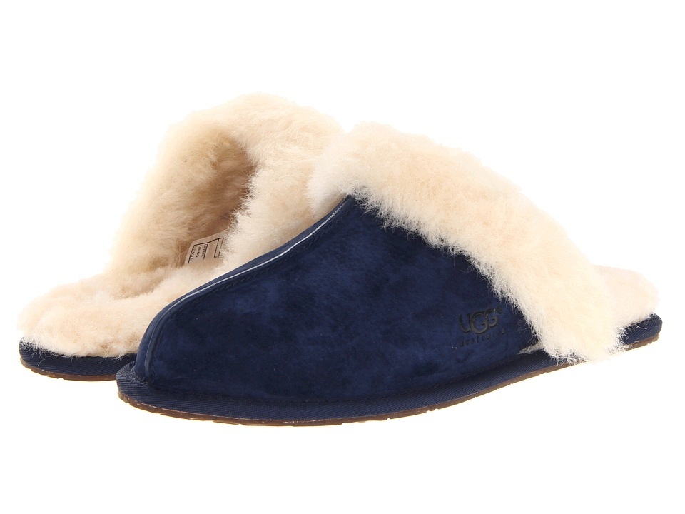 0cbcce64c54 UPC 887278459378 - UGG Scuffette II (Midnight) Women's Slippers ...