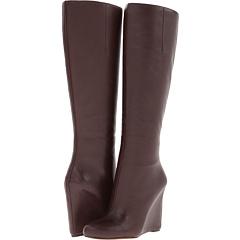 Nine West Ravvy (Dark Brown Leather) Footwear
