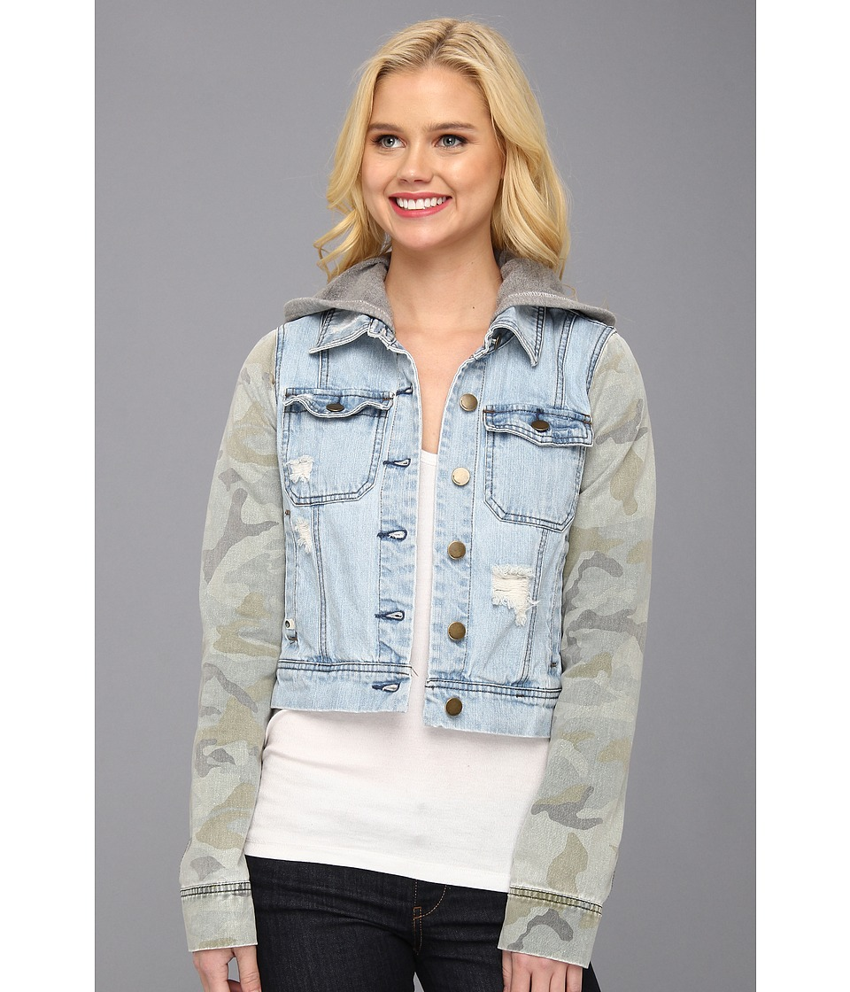 Billabong - Maddie Joy Denim Jacket (Camo) Women's Coat